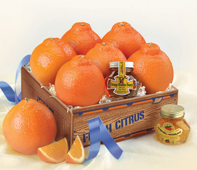 Honeybell Mini Deluxe, Honeybell Oranges, Marmalades and Honey