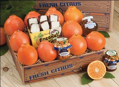 Honeybell Deluxe Honeybell Oranges, Marmalade, Honey & Coco Patties