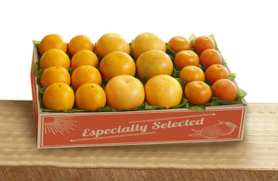 Our three most popular varieties in one gift pack: oranges, tangerines and grepafruit.