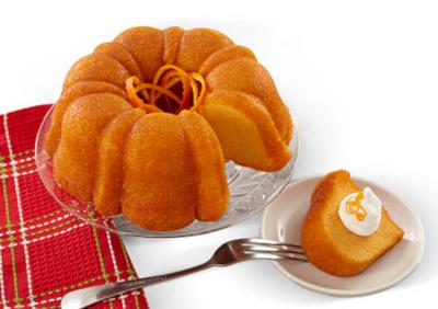 Honeybell Vanilla Bundt Cake.
