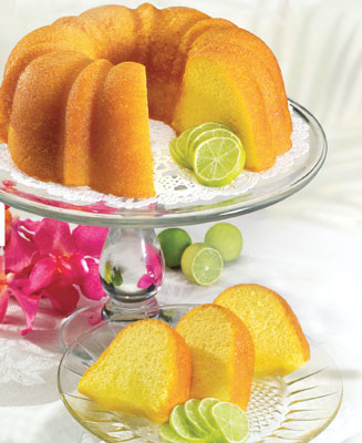 Key Lime Bundt Cake.