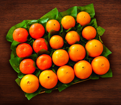 Flavorful selecton of three orange varieties, Navels, Tangerines and petite Cara Cara Red Navels.
