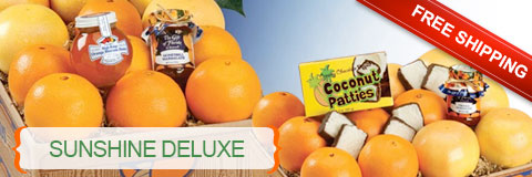 Sunshine Deluxe Orange and Grapefruit gift pack with Free Shipping.