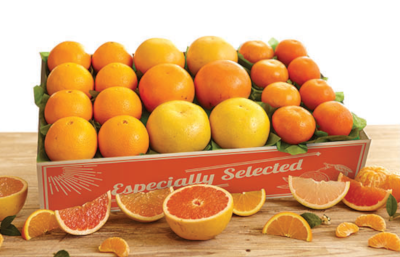 Three kinds of Grapefruit plus Oranges and Tangerines make up this Fabulous Five.