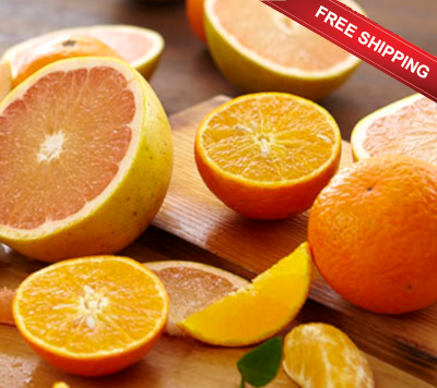 Temple Oranges and Ruby Red Grapefruit shipped free.